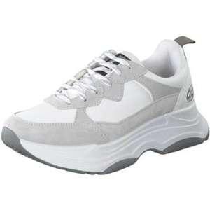 Dockers Plateau Sneaker Damen weiß