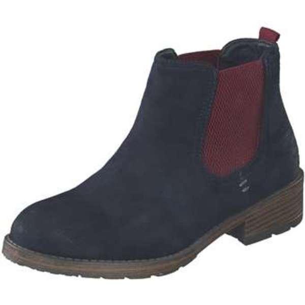 Bestpreis gehobene Qualität Genieße am niedrigsten Preis Via della Rosa Chelsea Boots Damen blau