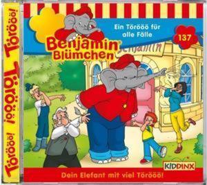 Benjamin Blümchen 137. Ein Törööö für alle Fälle - Geburtstagsfolge. CD