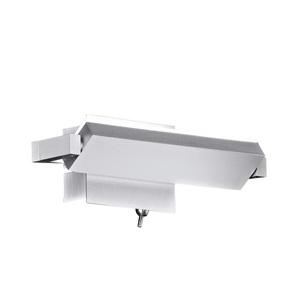 FISCHER & HONSEL verstellbare LED Wandlampe PARE 20 Nickelfarbig