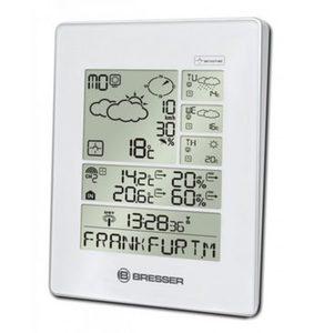 Bresser Wetterstation »4Cast LX Funkwetterstation (4 Tage), weiß/silber«