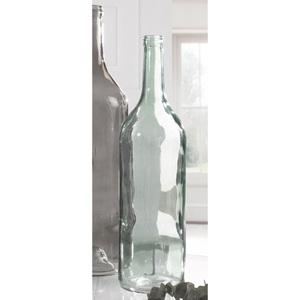 casaNOVA Deko Flasche H 46 FROZEN Hellblau