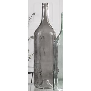 casaNOVA Deko Flasche H 54 FROZEN Grau