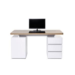 Schreibtisch CUUBA LIBRE Riviera Eiche ca. 150 x 75,5 x 55 cm