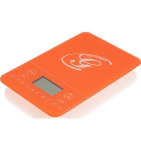Genius Fitness-Waage, orange