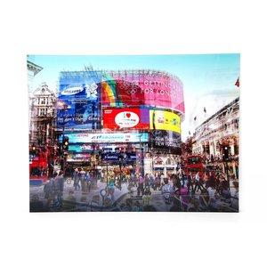 KARE Glasbild 120 x 160 cm    Piccadilly Circus