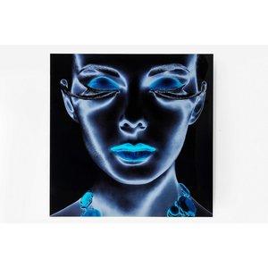 KARE Glasbild 120 x 120 cm   Diva