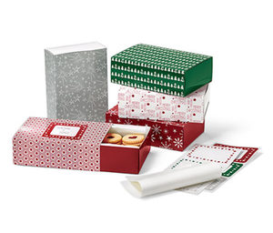 Gebäck-Geschenkboxen-Set