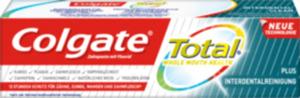 Colgate Zahnpasta Total plus Interdentalreinigung