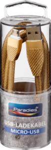 Paradies Paradies Metallic-Ladekabel Micro-USB Gold