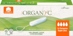 Organyc Tampons Super Plus