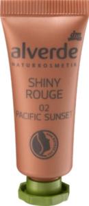alverde NATURKOSMETIK Shiny Rouge 02 Pacific Sunset