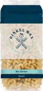 Dinkel Max Nudeln, Drelli, Locken aus Dinkel