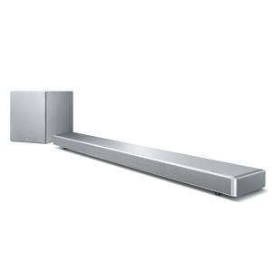 YAMAHA YSP-2700 Silber - 7.1 Soundbar ( 107 Watt, AirPlay, dtsHD, HDMI, WLAN, Bluetooth)