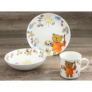 CreaTable Kinderservice   Teddy 3tlg.