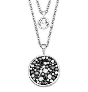 s.Oliver             Damen-Halskette mit Swarovski® Kristallen, Edelstahl 2018567