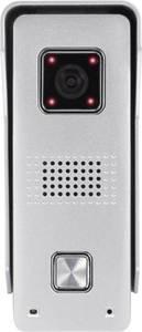Basetech IP-Video-Türsprechanlage WLAN, LAN, Kabelgebunden, Kabellos Außeneinheit 1 Familienhaus Silber