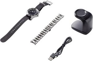 Madison New York Armbanduhr EQAU CT-05 (Ø x H) 46 mm x 15.5 mm Edelstahl Gehäusematerial=Edelstahl Material (Armband)=E