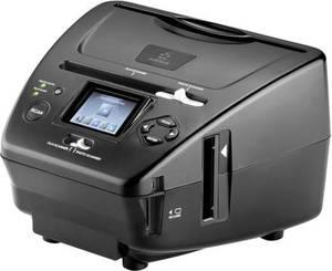 Renkforce DS200-5M Diascanner, Fotoscanner, Negativscanner 5 Mio. Pixel Digitalisierung ohne PC, Display, Speicherkarte