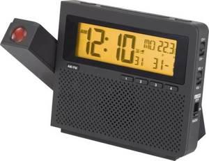 Renkforce C6057 Funk Projektionsuhr digital Schwarz