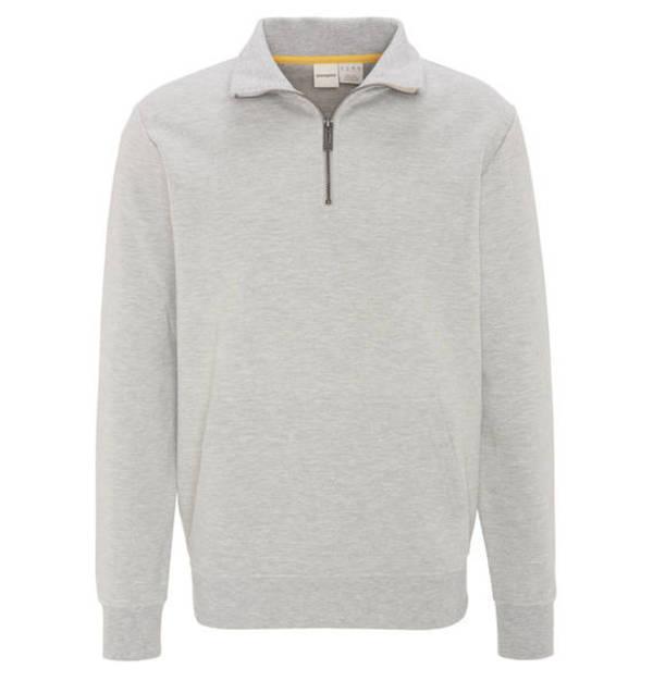 manguun Sweatshirt, Klappkragen, Kängurutasche, meliert von Galeria ... fe904b5fe0