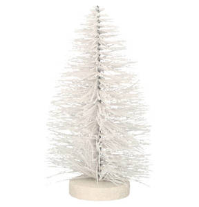 """GALERIA SELECTION             Weihnachtsfigur """"Baum"""", Glitzer, 21cm"""