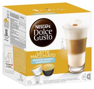 Nescafé Dolce Gusto Latte Macchiato ungesüßt | 8 Portionen
