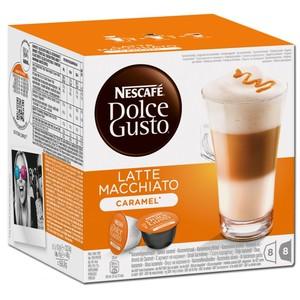 Nescafé Dolce Gusto Latte Macchiato Caramel | 8 Portionen