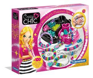 Clementoni Crazy Chic Trendige Perlenarmbänder