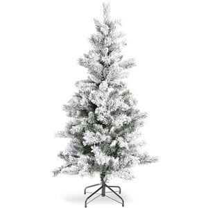 Baum Tanne beschneit, H:150cm, grün