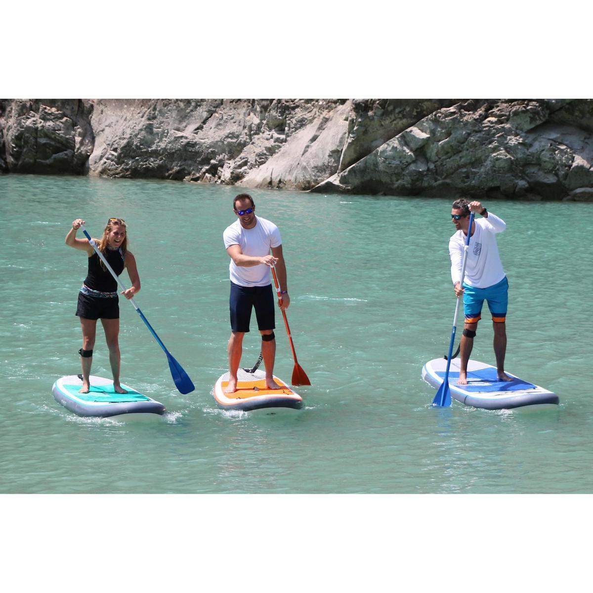 Bild 4 von SUP-Board Stand Up Paddle aufblasbar 100 / 10'7 blau