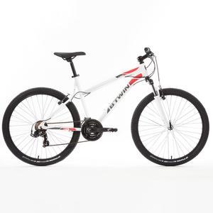 """Mountainbike 26"""" Rockrider 340 weiß"""
