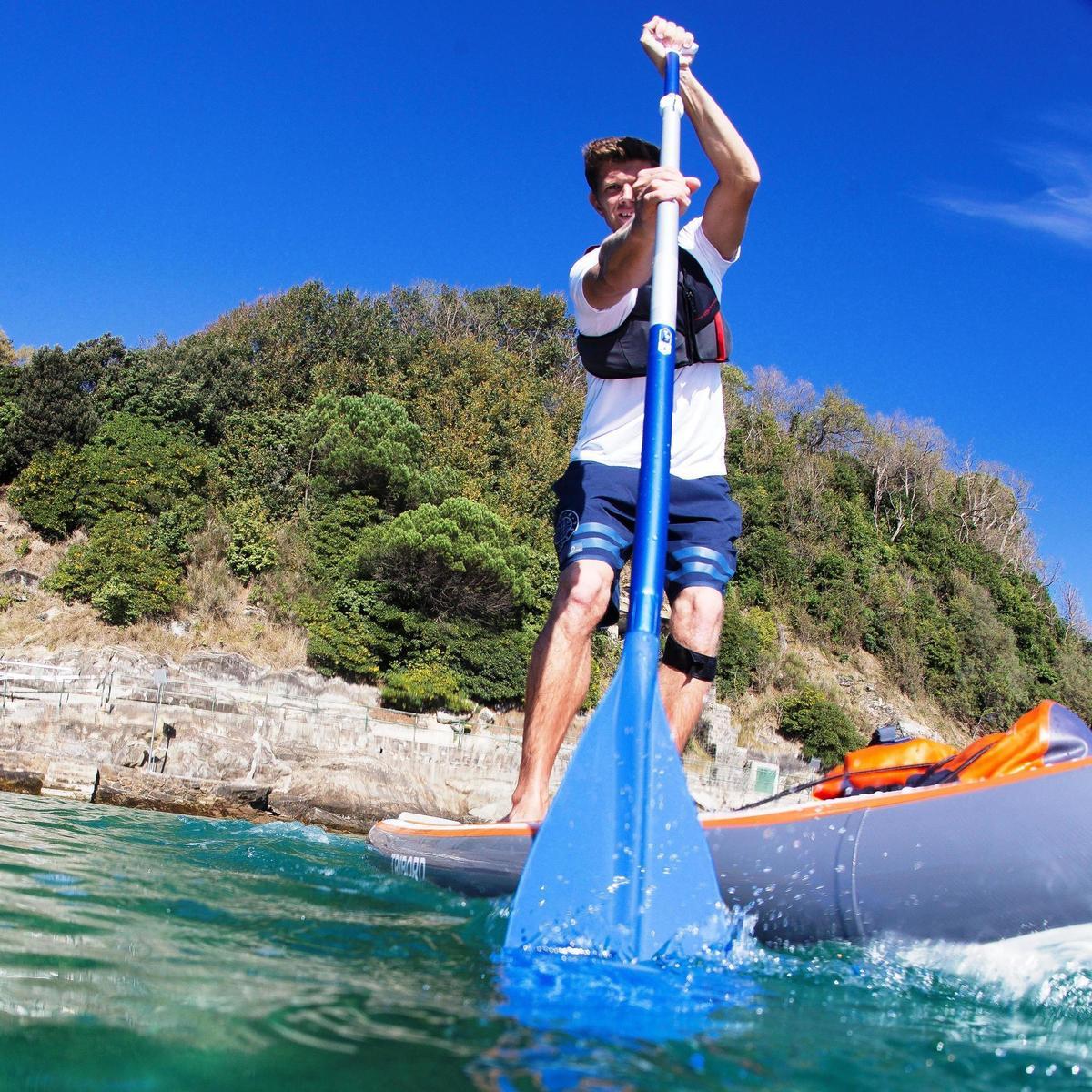 Bild 2 von SUP-Paddel 100 zerlegbar 170-210cm Stand Up Paddle blau