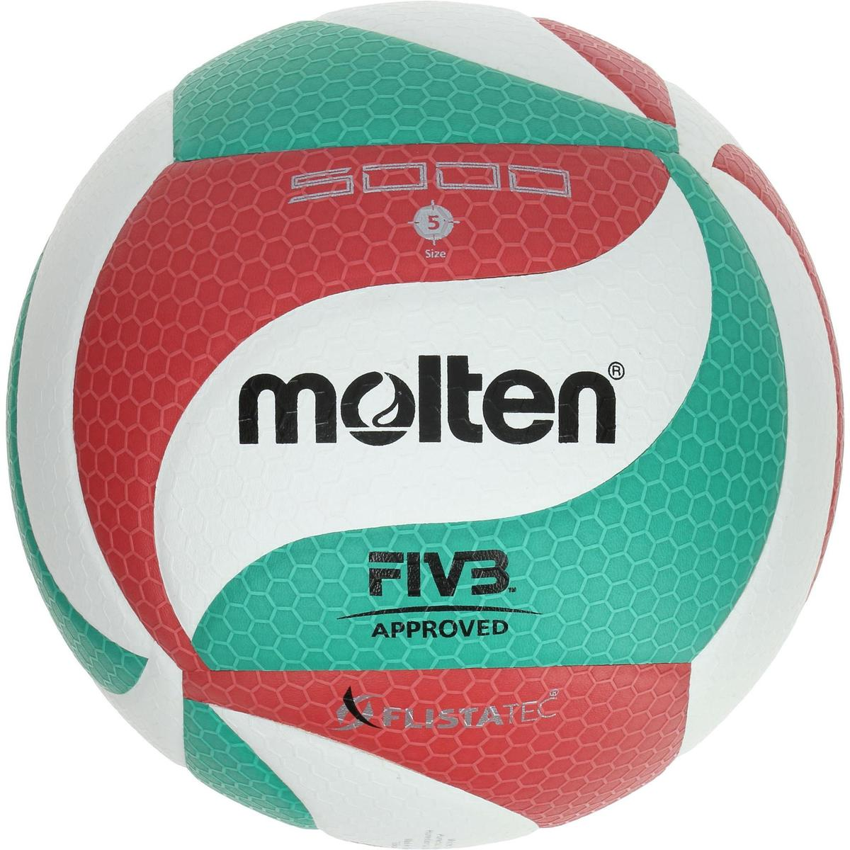 Bild 1 von Volleyball Molten 5000 Indoor grün/rot