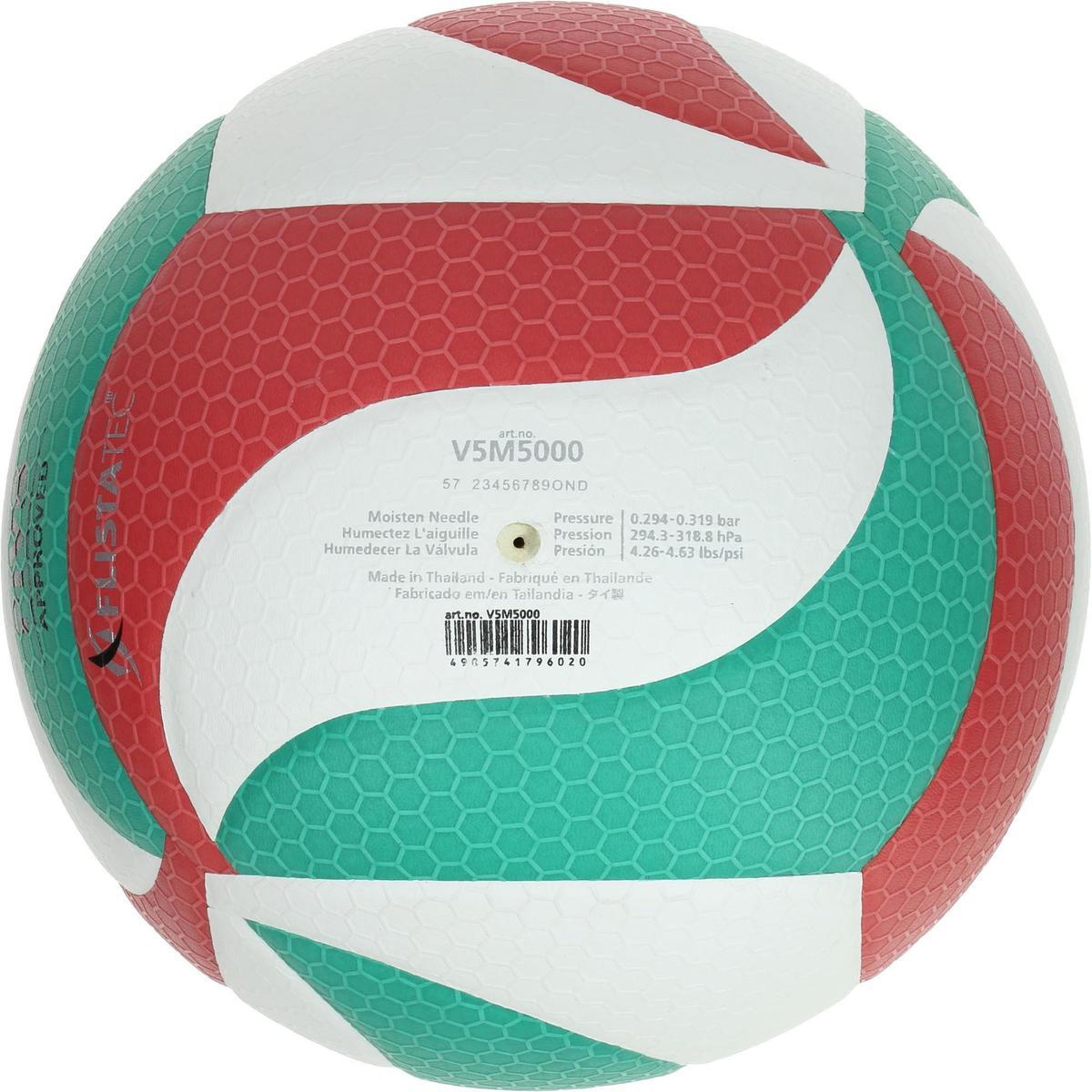 Bild 2 von Volleyball Molten 5000 Indoor grün/rot