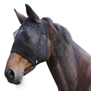 Fliegenmaske Pony/Pferd schwarz