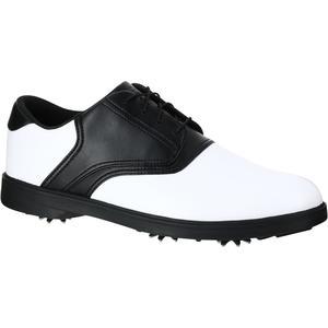 Golfschuhe Spike 500 Herren weiß/schwarz