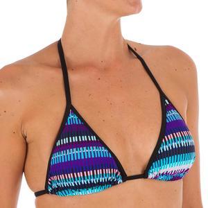 Bikini-Oberteil Triangel verschiebbar mit Cup-Schalen Mae Jazz Damen blau