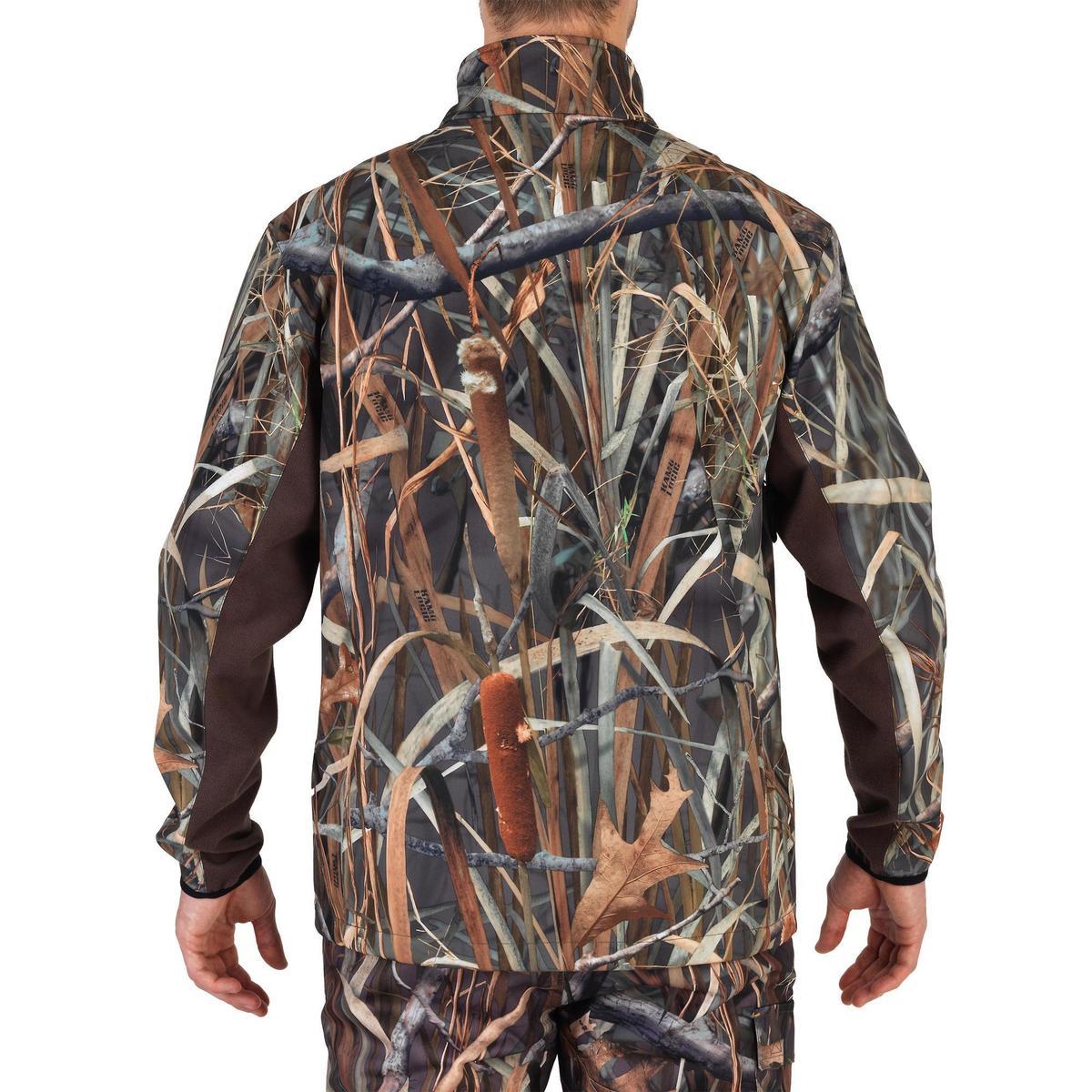 Bild 3 von Jagd-Softshelljacke 500 Duck Camouflage Schilf