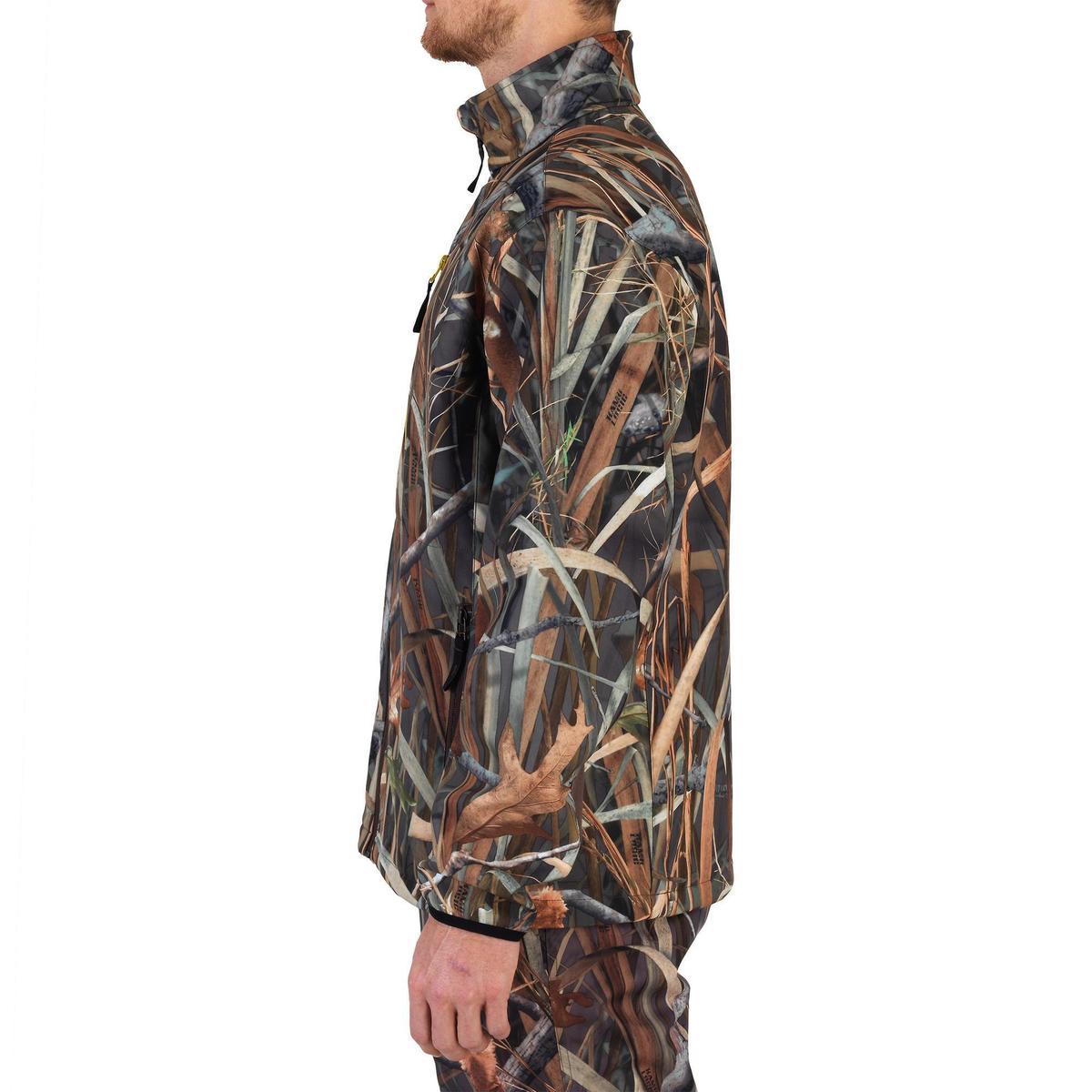 Bild 5 von Jagd-Softshelljacke 500 Duck Camouflage Schilf