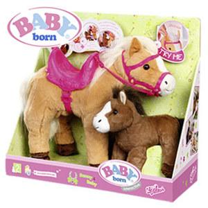 Baby born Interactive Sunny mit Fohlen inkl. Batterien, ab 3 Jahren