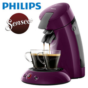 Kaffee-Padautomat HD 6553/40 Original • für 1 - 2 Tassen/ Becher • Abschaltautomatik nach 30 min
