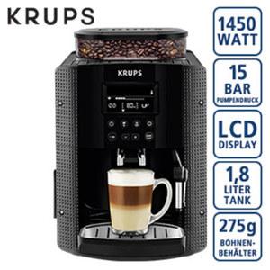 Espresso-Kaffee- Vollautomat EA8150 • individuelle Einstellung von Kaffeestärke, Wassermenge und Temperatur • automatisches Reinigungs- und Entkalkungsprogramm