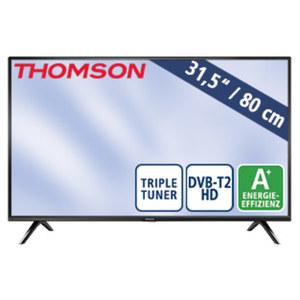 """32""""-LED-HD-TV 32HD3306 • Auflösung 1366 x 768 Pixel, H.265 • 2 HDMI-/USB-Anschlüsse, CI+ • Stand-by: 0,25 Watt, Betrieb: 31 Watt • Maße: H 43,5 x B 73,2 x T 8,0 cm • Energie-Effizienz"""