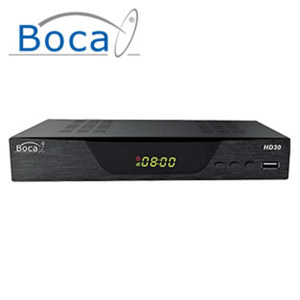 HDTV-Sat-Receiver HD30 • EPG, DiSEqC 1.2 • HDMI-/Scart-/USB-Anschluss