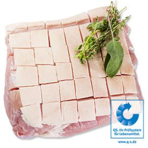 Saftiger Schinkenkrustenbraten küchenfertig zubereitet, SB-verpackt, je 1 kg