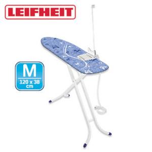 """Bügeltisch """"Air Board M Shoulder Compact Plus VDE"""" - einzigartige Schulterpassform für ein optimales Bügeln von Hemden und Blusen - speziell für den Einsatz eines Dampfbügeleisens geeignet - hö"""