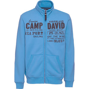 Camp David Herren Sweatjacke