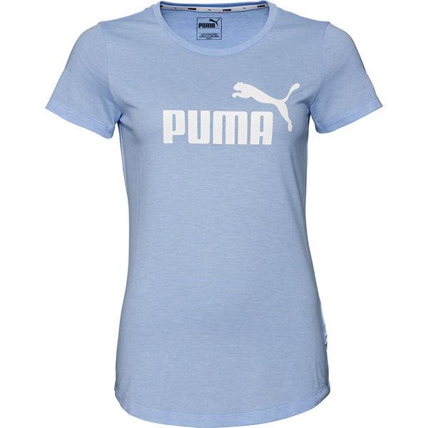 Puma Damen dryCell T-Shirt Essential Heather Cat Logo