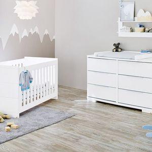 PINOLINO   2-tlg. Babyzimmer Polar extrabreit